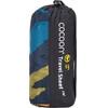 Cocoon TravelSheet Slaapzak en Inlet Silk blauw/zwart